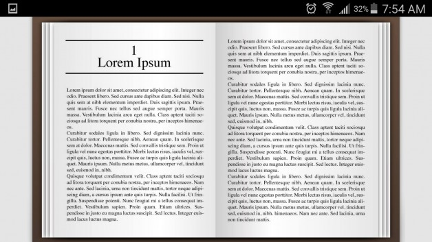 fullscreen flipfolio mobile